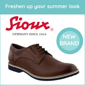Freshen up your summer look with Sioux