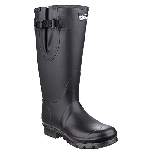 Cotswold Kew wellies black