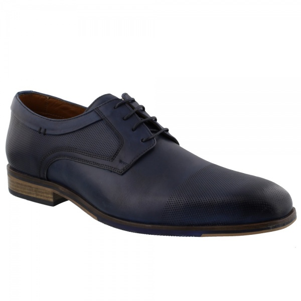 Australian Footwear ESSEX Leather Royal Blue
