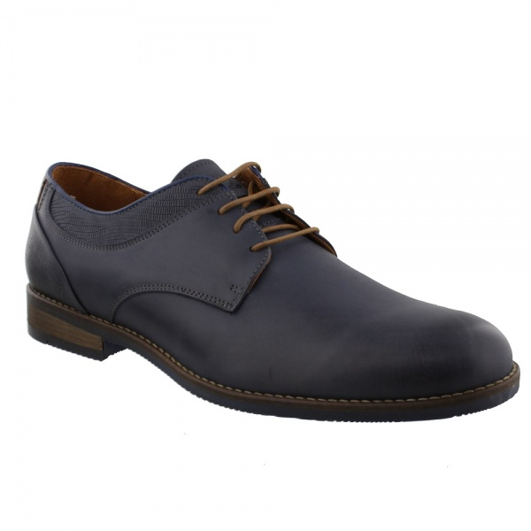 Australian Footwear MEMPHIS Leather Blue-Tan