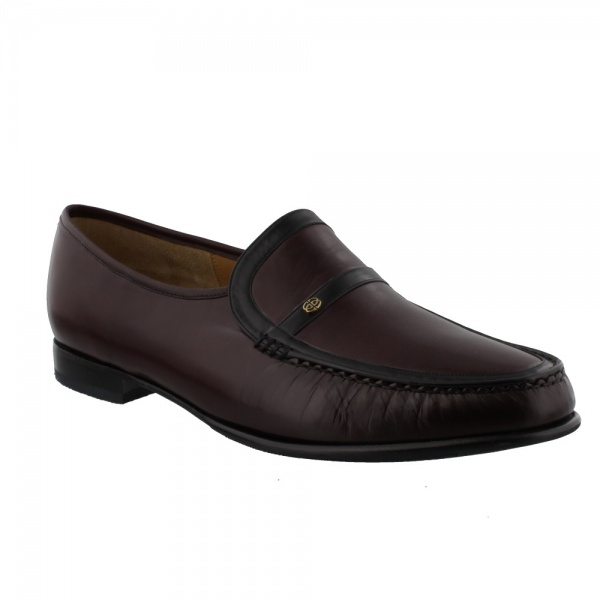 Barker Jefferson Burgundy/Black Kid