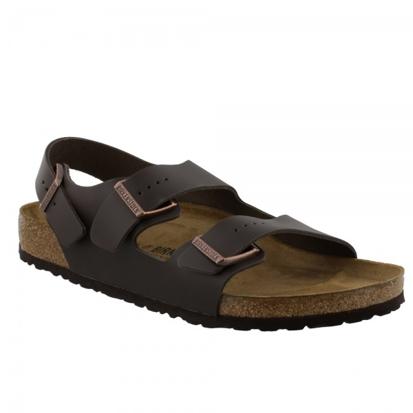 Birkenstock Milano Dark Brown 34101