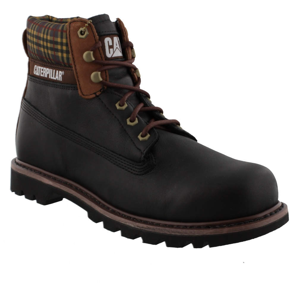 CAT COLORADO PLAID BLACK