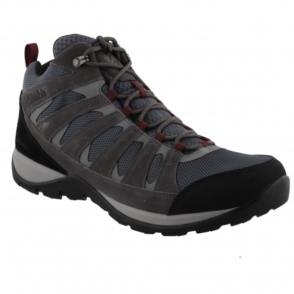 Columbia Redmond V2 Mid WP Graphite/Red Jasper