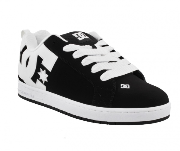 DC SHOES COURT GRAFFIK 001 BLACK