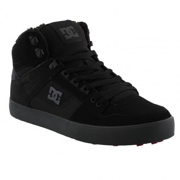DC SHOES PURE HIGH-TOP WC WINTER(XKSR) BLACK/GREY/RED