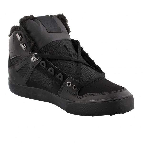 DC Shoes PURE HIGH-TOP WC WINTER BLACK