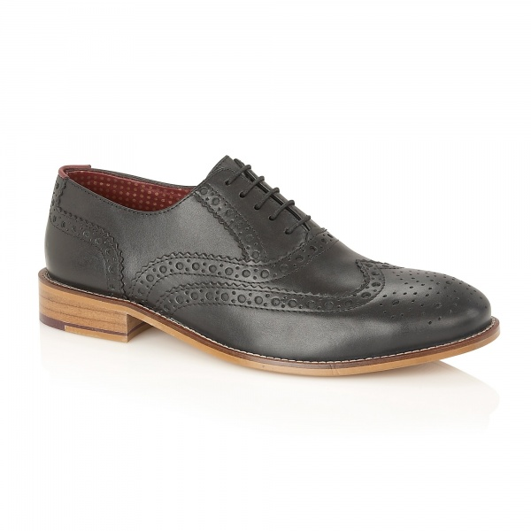London Brogues Gatsby Black