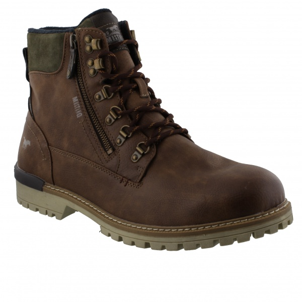 Mustang Mateo Boot Mid Brown