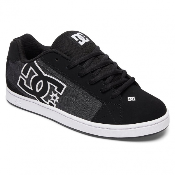 DC Shoes Net SE M KDW BLACK DESTROY WASH