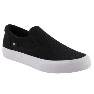 DC SHOES TRASE SLIP ON BLACK