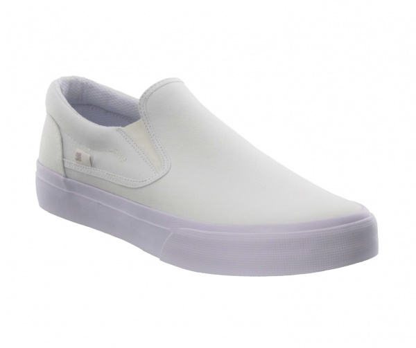 DC SHOES TRASE SLIP ON WHITE