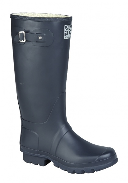 Woodland W260C Wide-fit welly navy