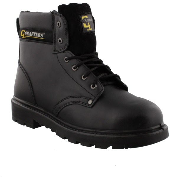 Grafters Apprentice Safety Boot Black