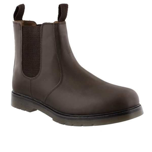 Amblers Chelmsford Dealer Boot brown