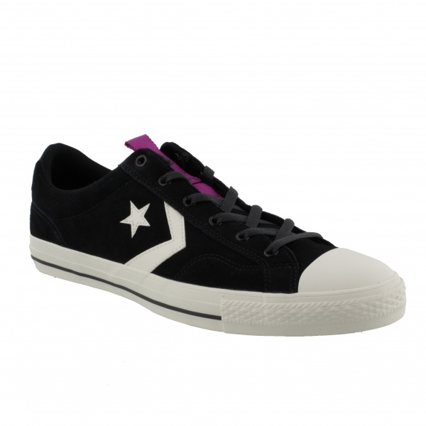 Converse Star Player Ox Black/Egret/Icon Violet 162567C