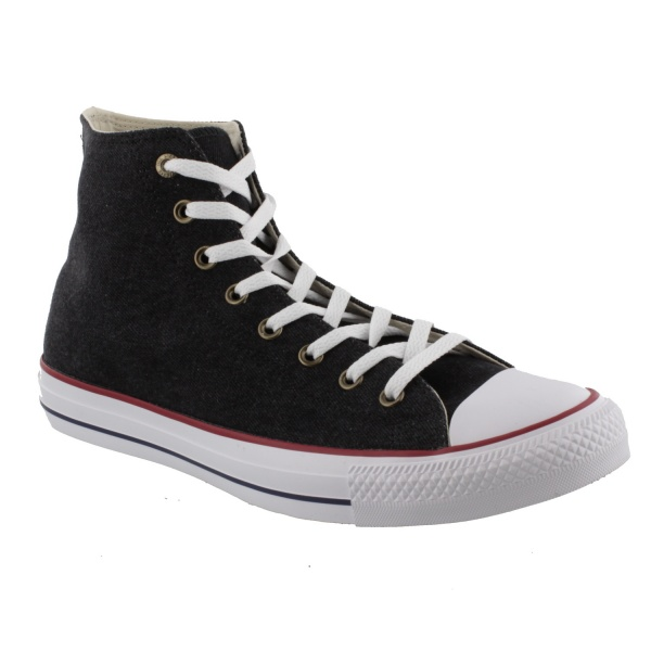 CHUCK TAYLOR ALL STAR - HI - BLACK/WHITE/BROWN 161492C