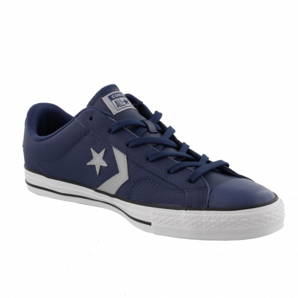 Converse Allstar Ox Star Player Navy/Wolf Grey/White