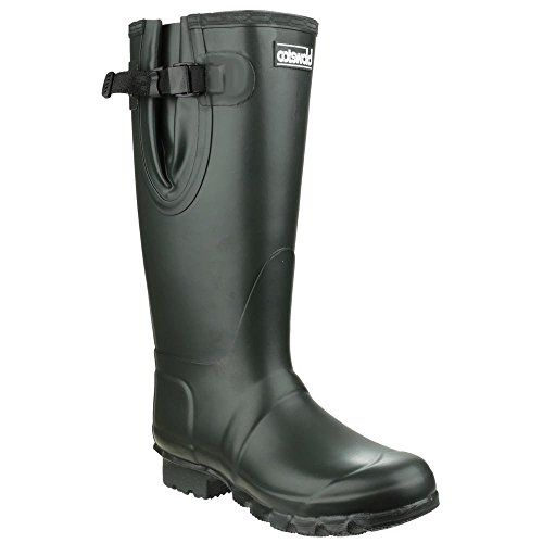 Cotswold Kew wellies olive green