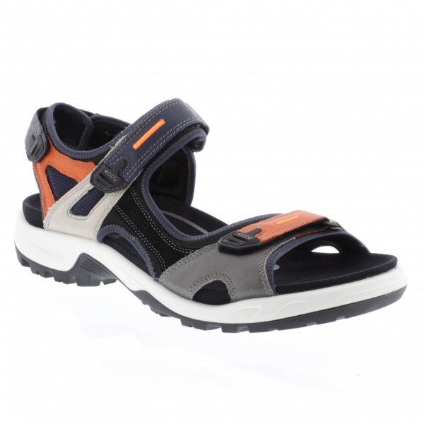 Ecco Offroad Multicolor Fire Yak Leather Sandal