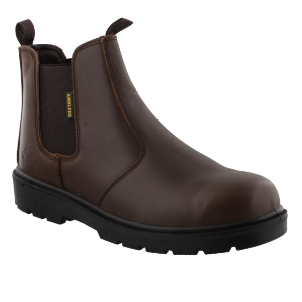 Amblers FS128 Pull on Dealer Boot brown