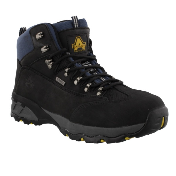 Amblers FS161 Hiker W/P Safety Boot Black