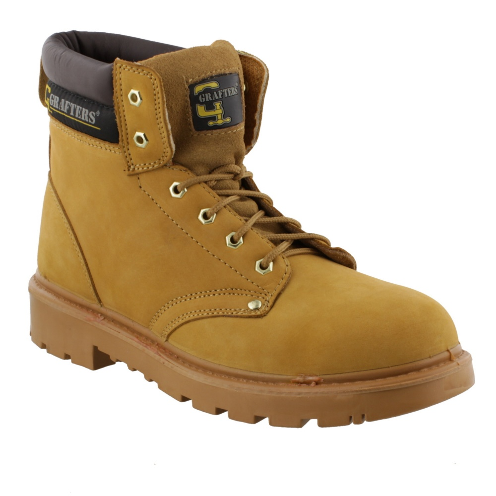 Grafters Apprentice Safety Boot Honey