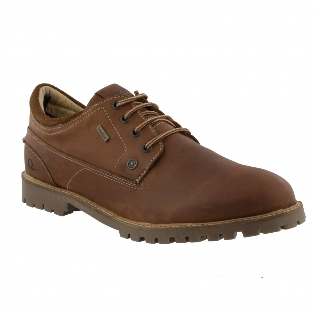 Chatham Raby Tan Derby Shoe