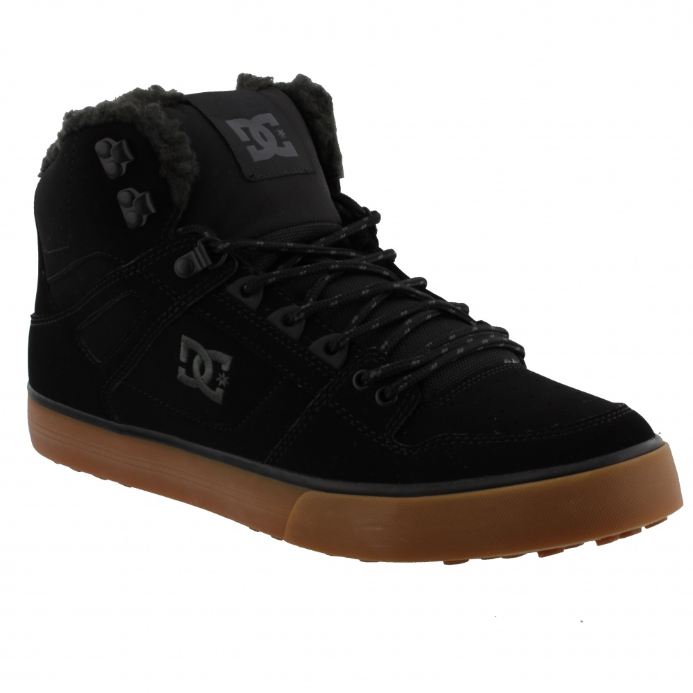 DC SHOES PURE HIGH-TOP WC WINTER(XKRG) BLACK/RED/GREEN
