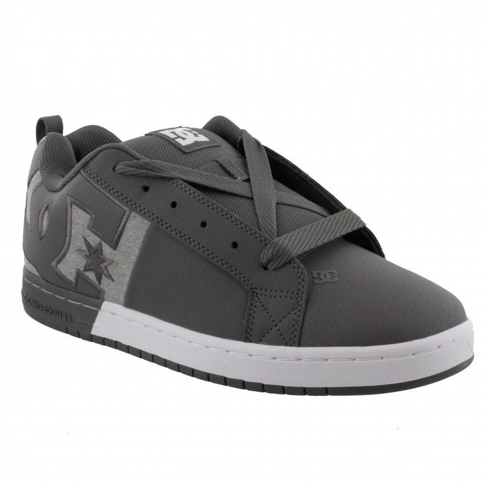 DC SHOES COURT GRAFFIK SQ PEWTER