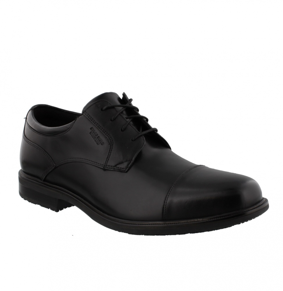 ROCKPORT ESSENTIAL DETAIL II CAP TOE BLACK