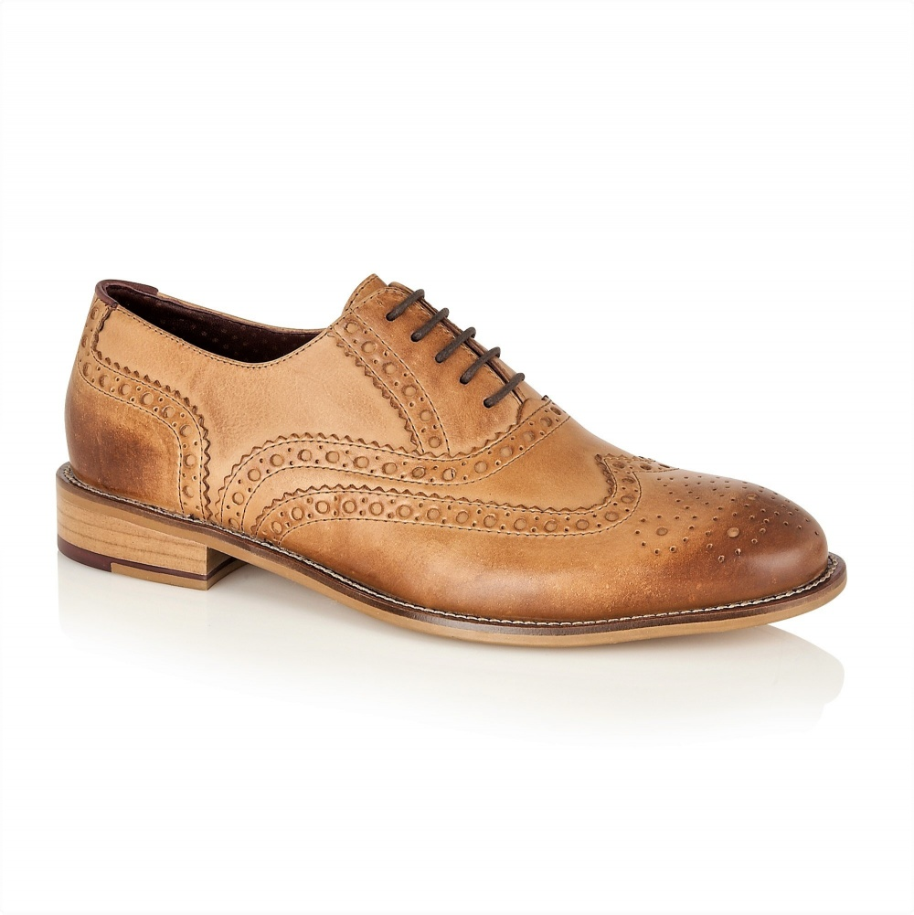 London Brogues Gatsby Tan