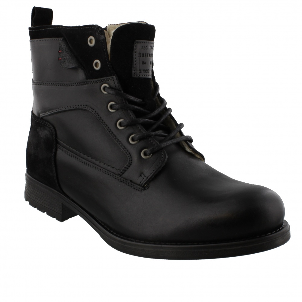 Mustang Milo Boots Black