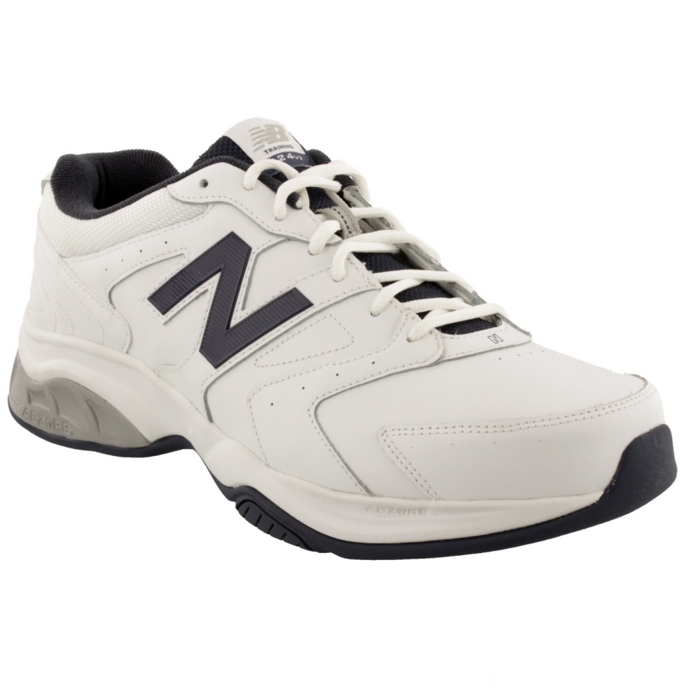 New Balance MX624-2E Wide White