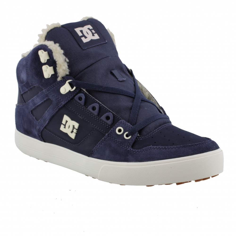 DC Shoes PURE HIGH-TOP WC WINTER NAVY/KHAKI