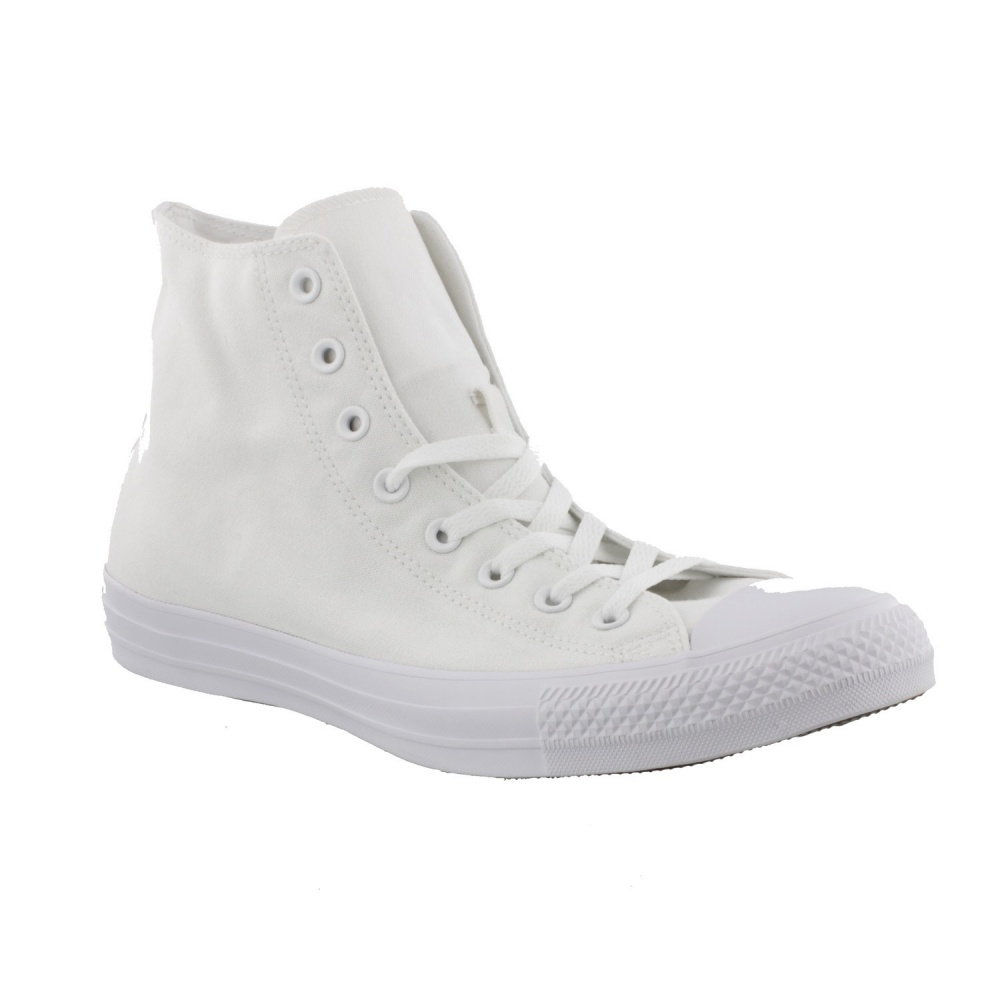Converse All Star Hi Mono White