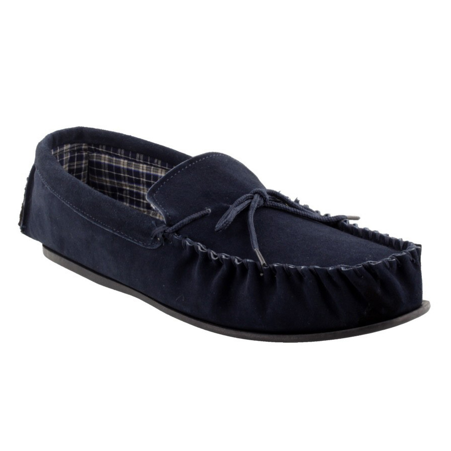 Mokkers Bruce Slipper Navy