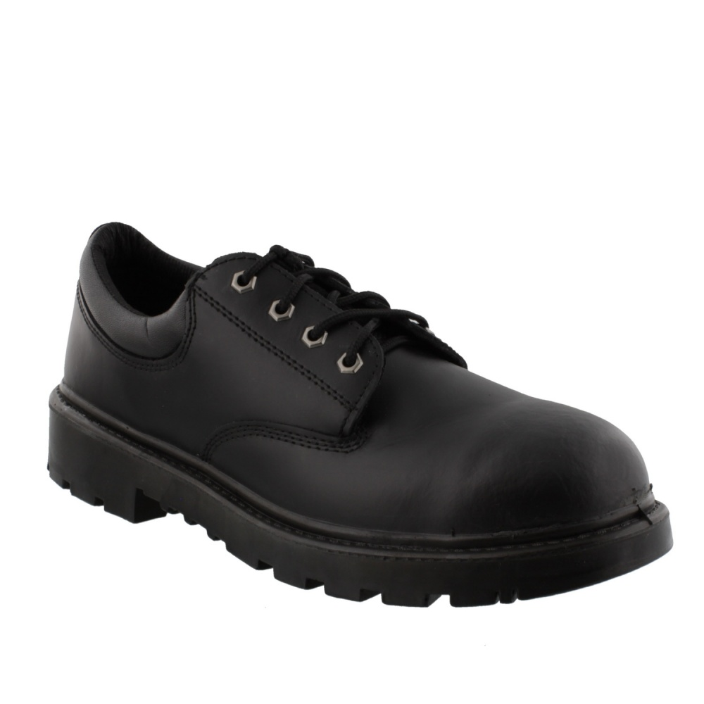 Grafters Contractor Safety Toe Shoe Black
