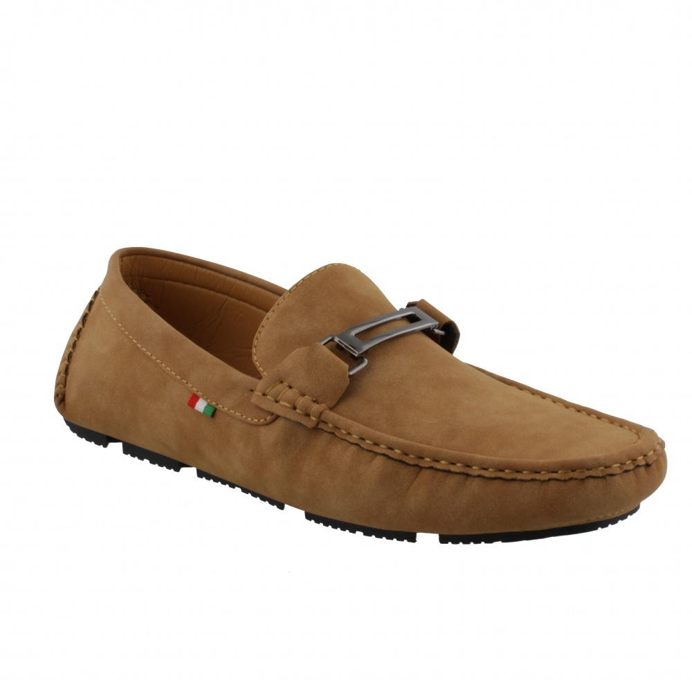 D555 OAKLAND-2 TAN DECK SHOE