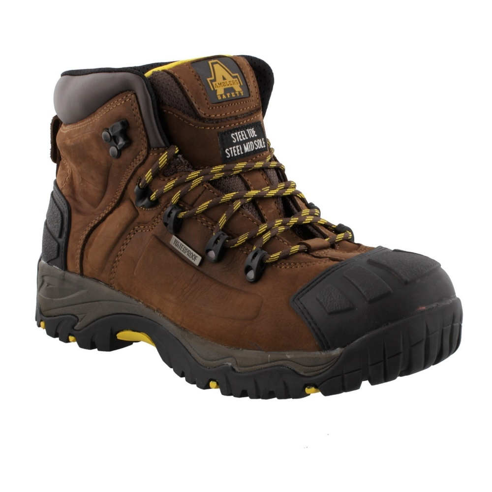 Amblers FS39 Safety Boot Brown