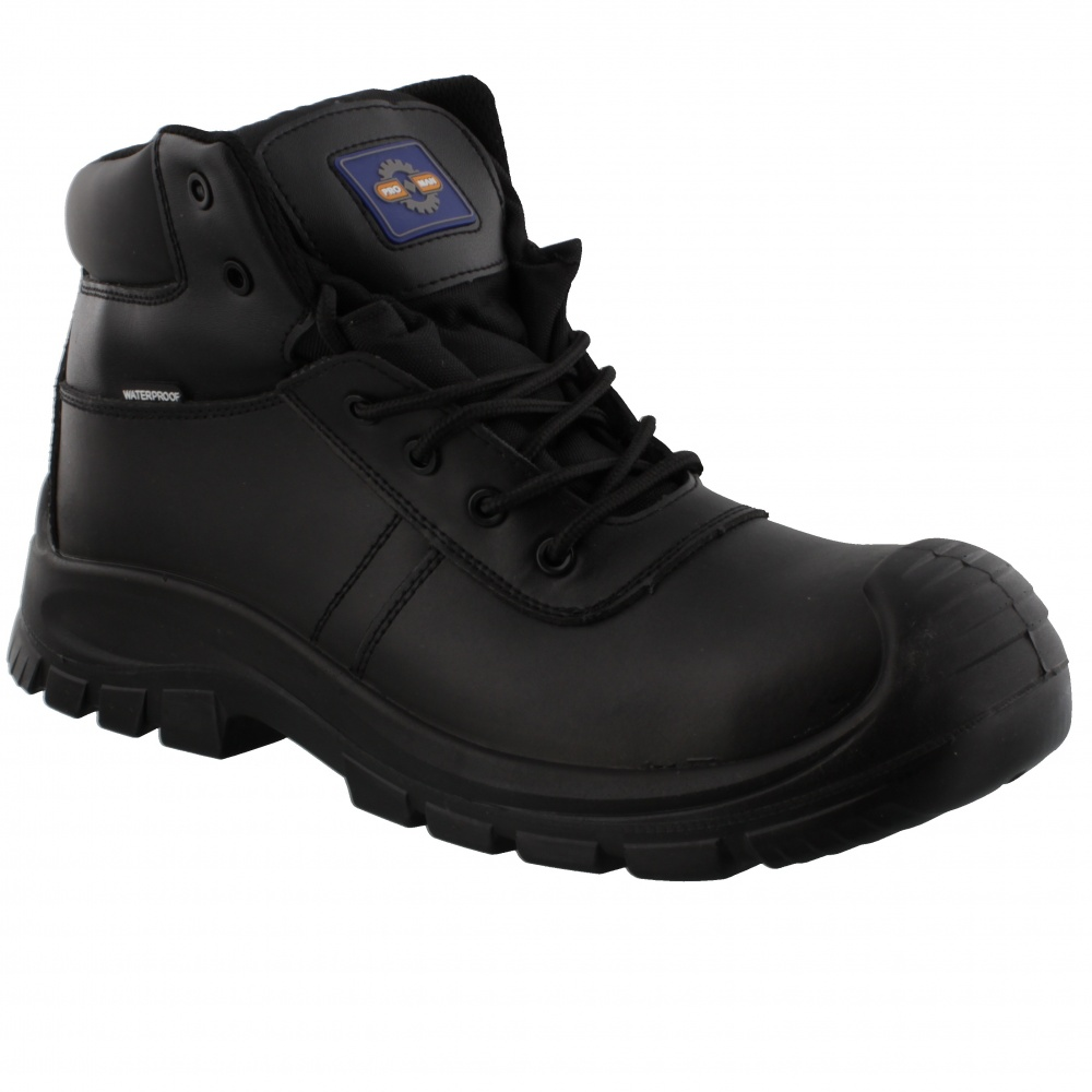 Rockfall Baltimore Waterproof Safety Boot PM4008 Black