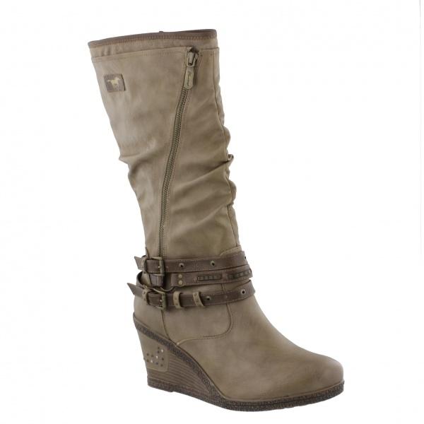 Mustang Morgan taupe - Bigfootshoes