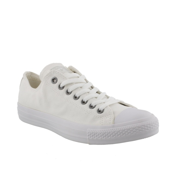 Converse All Star Ox White Monochrome