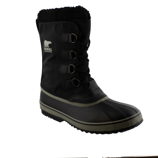 Sorel Pac Nylon Black Tusk