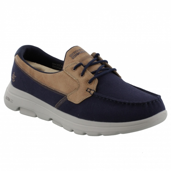 SKECHERS GOWALK 5™ - KRANE NAVY/BROWN